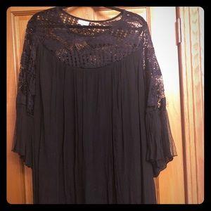 Avenue size 26/28 black mini dress